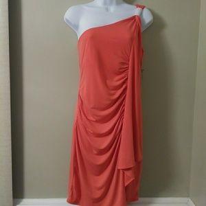 NY&C Sexy Orange Dress Medium